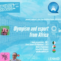 Olympism & Esport at Africa Season 2020 African Creative Meeting