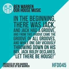 Ben Warren - Our House Music