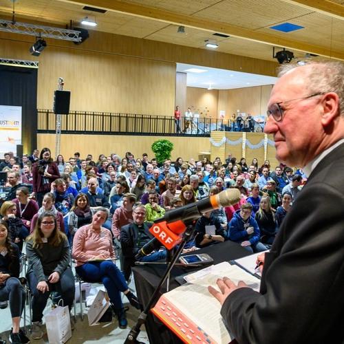 Bischof Alois Schwarz am Inspirationstag 2020 in Wieselburg