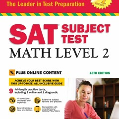 {EBOOK} SAT Subject Test: Math Level 2 with Online Tests (Barron's Test Prep) FREE EBOOK