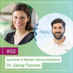 Sportarzt & Werder-Mannschaftsarzt Dr. Georg Tsironis