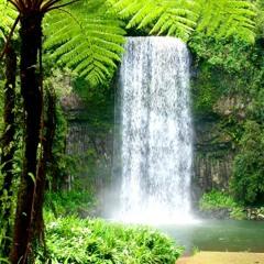 Waterfall On Mount Pleasure