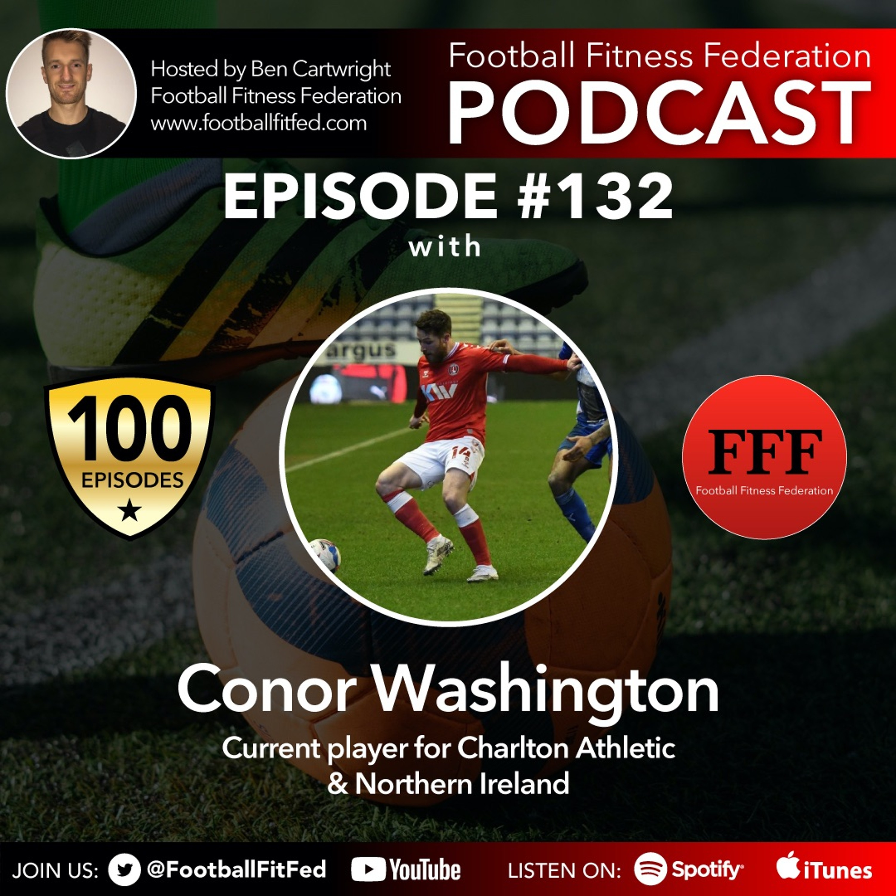 """#132 """"The Player's Perspective"""" With Conor Washington"""