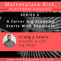 A Fairer Gig Economy Starts with Payments Craig Lewis