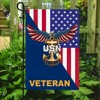 United States Navy American Eagle Veteran Flag