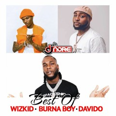 Best Of Wizkid x Burna Boy x Davido(Latest Songs)Mix @DJNOREUK