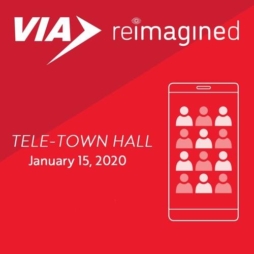 VIA Reimagined Tele-Town Hall 01-15-2020