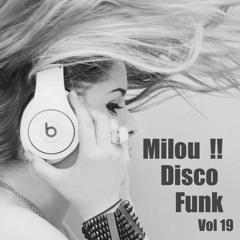 Mix Disco Funk / Milou !! Vol 19
