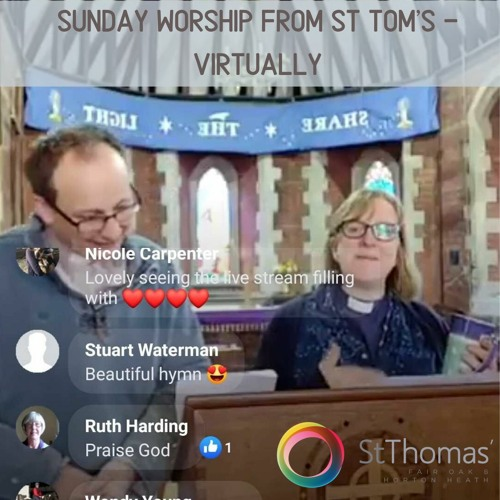Sunday Worship From St Tom's - Virtually