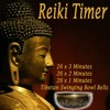 Reiki Timer 26 X 1 Minute Tibetan Singing Bowl Bell in a Silence Background