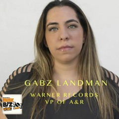 Gabz Landman - Warner Records VP of A&R - Music Biz 101 & More Podcast