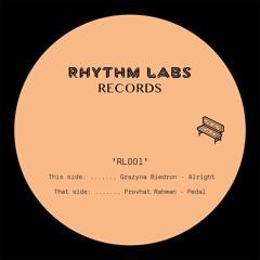 PREMIERE: Provhat Rahman - Pedal [Rhythm Labs]