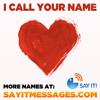 I Call Your Name (I Love You James)