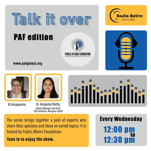 Talk It Over Ep 10 With Dr.Anupama Shetty By RJ Annapoorna
