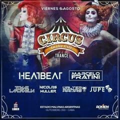 JuPe b2b Walter Armas LIVE @ Circus City Malvinas Argentinas 06.08.21