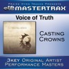 Voice Of Truth (High without background vocals) ([Performance Track])