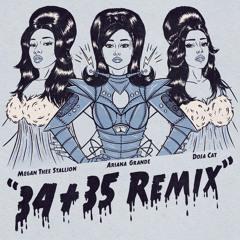 Ariana Grande - 34+35 (Remix) [feat. Doja Cat & Megan Thee Stallion]