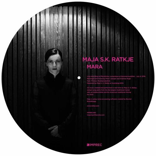 Maja S.K. Ratkje - Mara - Picture Disc LP - Pre - Order Available now