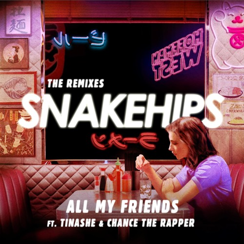 All My Friends (Wave Racer Remix) [feat. Tinashe & Chance the Rapper]