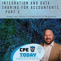 Integration and Data Sharing for Accountants - Part 3