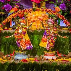 Nimai Gadhvi 2020.08.25. Adhivasa Festival (Radhastami) Jhulan Yatra