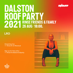 Dalston Roof Party: LRO - 26 August 2021