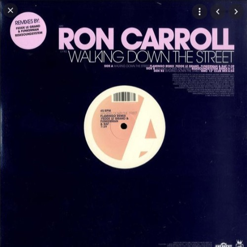 Ron Carroll - Walking Down The Street - Romy Black Remix