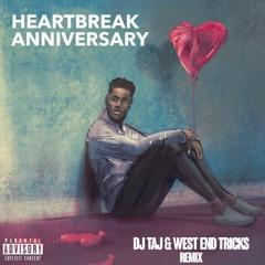 DJ Taj - Heartbreak Anniversary (Jersey Club Mix) ft. West End Tricks