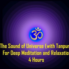 Unique Over tone ॐ #Omkar sound with Tanpura for Deep #Meditation and #Relaxation 4hours