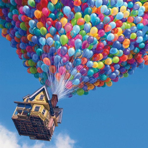 Pixar's Up: Balloon Blow UP (Flash Game) - Main Title
