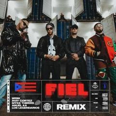 Wisin Ft. Jhay Cortez  Myke Towers  Anuel Y Los Legendarios - Fiel (Official Remix)
