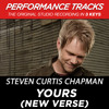 Yours (New Verse) (Performance Track In Key Of F With Background Vocals; TV Track)