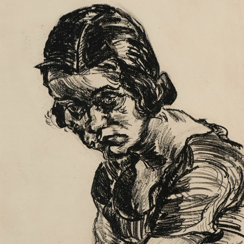 Ludwig Meidner Portrait of a Girl