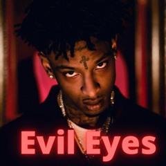 EVIL EYES - 21 Savage x Moneybagg Yo x Metro Boomin Type Beat - Dark Epic Evil Suspense Orchestral