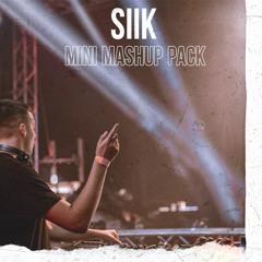 SIIK Mini Mashup Pack (Ed Sheeran, Shouse, Dua Lipa and more!)
