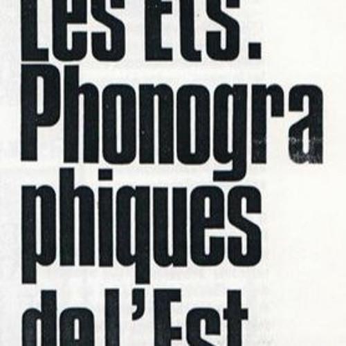 Les Établissements Phonographiques De L'Est (1988)