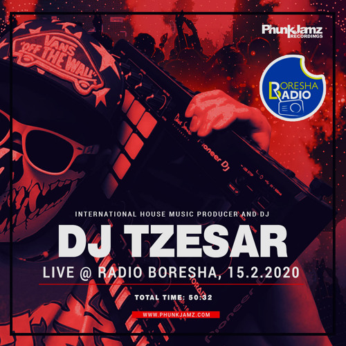 TZESAR - Live at Boresha Radio(Tanzania, Africa) 15-02-2020