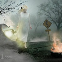 THE GHOST OF ANNIE'S ROAD