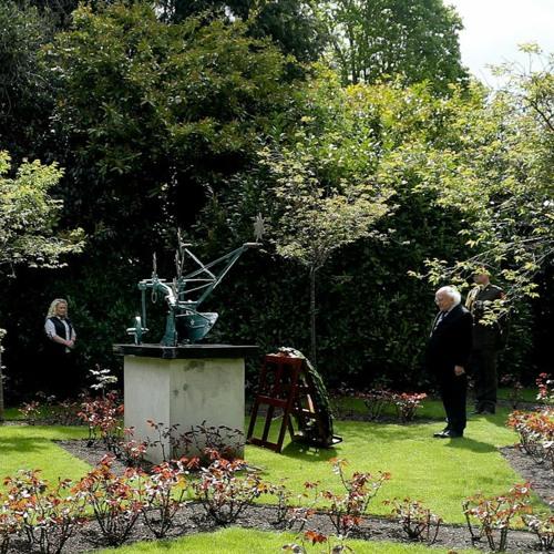 President Michael D. Higgins Marks International Workers' Memorial Day