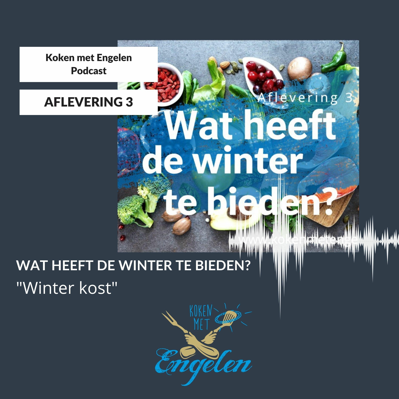 Aflevering 3 Wat heeft de winter te bieden? Koken met Engelen Podcast