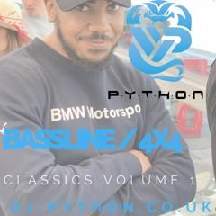 Dj Python - Bassline / 4x4 Classics Volume 1