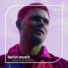 Vinyl Techno Stream @berlin.music  9-6-21