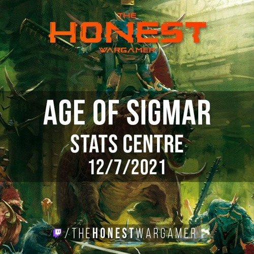 Age of Sigmar Stats Centre (12/7/21)
