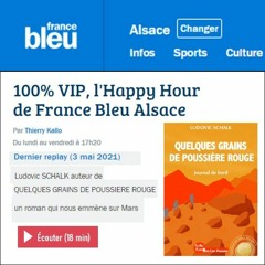 France Bleu Alsace - Ludovic SCHALK - Quelques Grains De Poussière Rouge