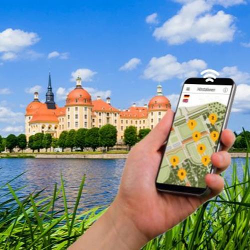 Smartphone-Audioguides | Schloss Moritzburg | Barockgarten