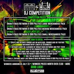 Drum & Bass Network & D&B Politics DJ Comp Entry (winning Entry )