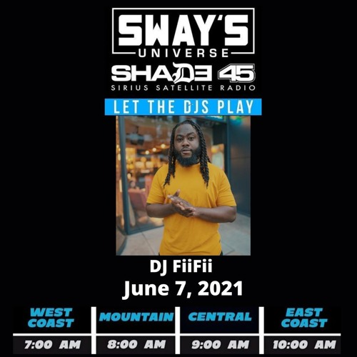 Guest Mix For Sway In The Morning on Shade 45 SiriusXM : Hip Hop, African Hip Hop & Ghana Drill