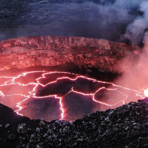 Hot Melting Face or Gather Round the Crater's Glow