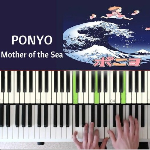 Ponyo on The Cliff : Mother Of The Sea