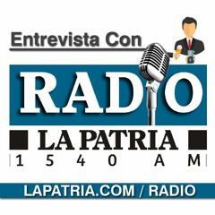 Entrevista Jose Luis Correa, Rep. a la Camara  Inf. del Mediodia  LA PATRIA Radio - 30 Junio 2021
